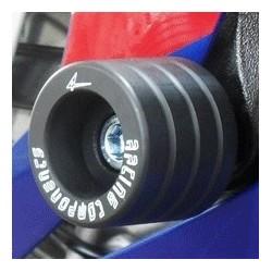 COPPIA TAMPONI PROTEZIONE CARENA 4-RACING PER HONDA CBR 954 RR 2002/2003, 929 RR 2001/2002