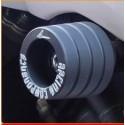 COPPIA TAMPONI PROTEZIONE CARENA 4-RACING PER KAWASAKI ZX-6R 636 2003/2006, ZX-6RR 600 2003/2006