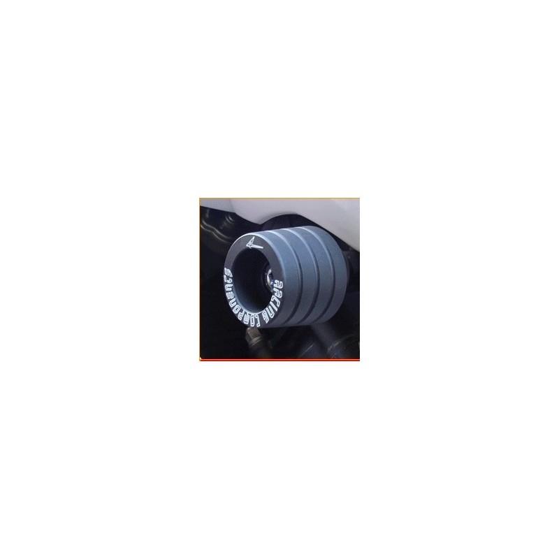 COPPIA TAMPONI DI PROTEZIONE CARENA 4-RACING PER KAWASAKI ZX-6R 636 2003/2006, ZX-6RR 600 2003/2006