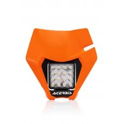 MASCHERINA ACERBIS A LED MODELLO VSL PER KTM EXC 250 2020