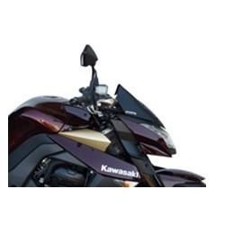 WINDSHIELD FABBRI FOR KAWASAKI Z 1000 2010/2013, BLACK, SATIN BLACK, BISATINATED BLACK