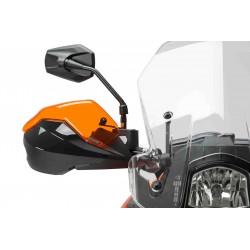 ESTENSIONE PUIG PER PARAMANI ORIGINALI KTM DUKE 690 R 2016/2017, ARANCIONE