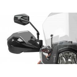 ESTENSIONE PUIG PER PARAMANI ORIGINALI KTM DUKE 690 R 2016/2017, FUME CHIARO