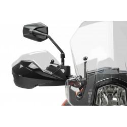 ESTENSIONE PUIG PER PARAMANI ORIGINALI KTM DUKE 690 R 2016/2017, TRASPARENTE