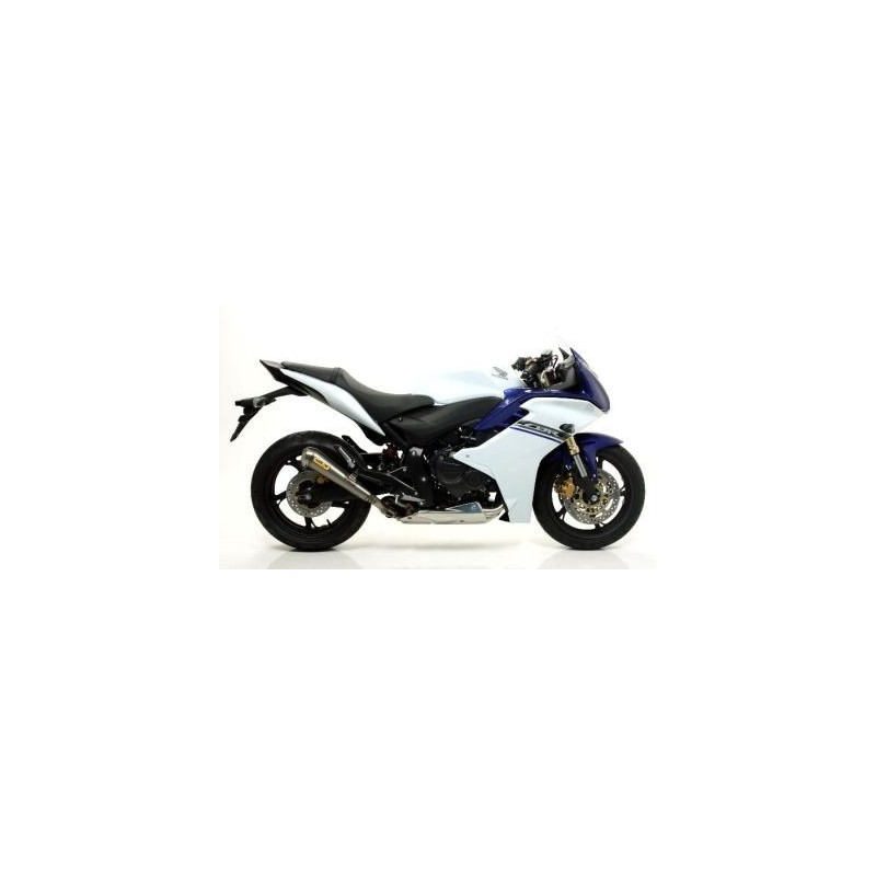 ARROW PRO-RACE EXHAUST TERMINAL IN STAINLESS STEEL FOR HONDA HORNET 600 2007/2013, CBR 600 F 2011/2013, APPROVED