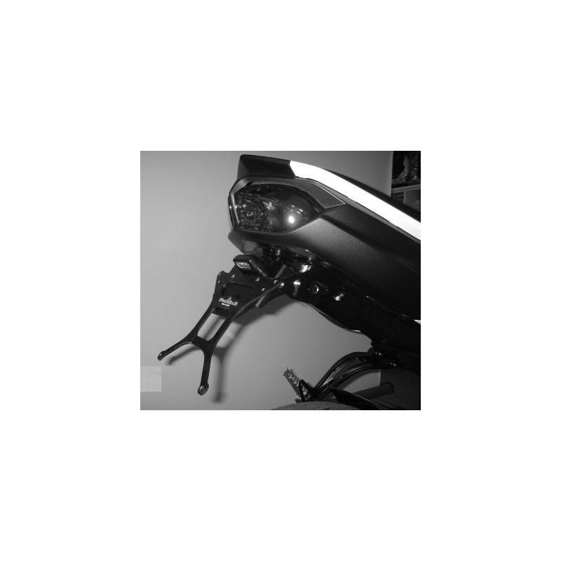 PORTATARGA REGOLABILE IN ALLUMINIO PER YAMAHA FZ1 2006/2015 (naked), FZ8 2010/2015, FAZER 8 2010/2015