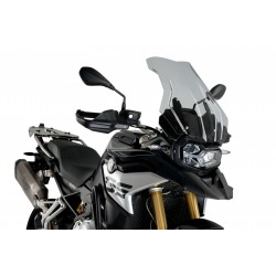 PUIG TOURING PLUS WINDSCREEN FOR BMW F 850 GS 2021 LIGHT SMOKE COLOR
