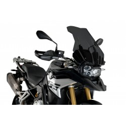 PUIG TOURING PLUS WINDSCREEN FOR BMW F 850 GS 2021 DARK SMOKE COLOR