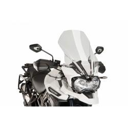 CUPOLINO PUIG TOURING PER TRIUMPH TIGER EXPLORER 1200 XC 2016/2017 COLORE TRASPARENTE