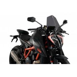 CUPOLINO PUIG TOURING NEW GENERATION PER KTM 1290 SUPER DUKE R 2020 COLORE FUME SCURO