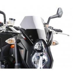 CUPOLINO PUIG SPORT NEW GENERATION PER KTM SUPER DUKE R 990 2007/2013 COLORE FUME CHIARO