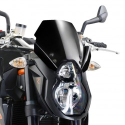 CUPOLINO PUIG SPORT NEW GENERATION PER KTM SUPER DUKE R 990 2007/2013 COLORE NERO