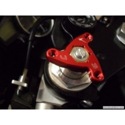 ERGAL FORK PRELOAD ADJUSTING RINGS STARS HEXAGON MODEL 22 mm (PAIR)