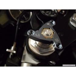 GHIERE DI REGOLAZIONE PRECARICO FORCELLA IN ERGAL MODELLO STARS ESAGONO 19 mm (COPPIA)