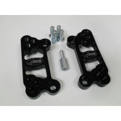PAIR OF 4-RACING RETRACTORS FOR ORIGINAL FOOTPEGS KAWASAKI ZX-10R 2011/2020