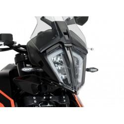 PROTEZIONE FARO ANTERIORE PUIG PER KTM 390 ADVENTURE 2020 COLORE TRASPARENTE