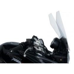 WINDSHIELD FABBRI GEN-X TOURING SERIES FOR TRIUMPH TIGER 800 XC 2011/2017, TRANSPARENT