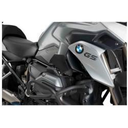COPPIA COVER TELAIO PUIG PER BMW R 1250 GS ADVENTURE 2021, COLORE NERO