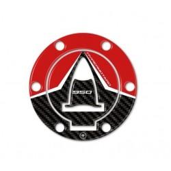 ADESIVO 3D PROTEZIONE TAPPO SERBATOIO DUCATI HYPERMOTARD 950 RVE 2021
