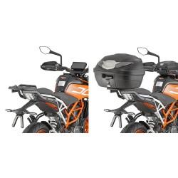 ATTACCO POSTERIORE GIVI7707FZ PER MONTAGGIO BAULETTO MONOLOCK PER KTM 390 DUKE 2021