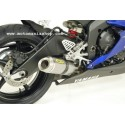 ARROW COMPLETE EXHAUST SYSTEM WITH TITANIUM THUNDER TERMINAL FOR YAMAHA R6 2006/2007