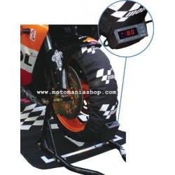 TIRE WARMERS LINE MOTOGP WITH ADJUSTABLE THERMOSTAT