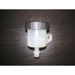 PLASTIC FLUID TANK WITH STRAIGHT OUTLET FOR REAR BRAKE/CLUTCH (capacity 15 cc)