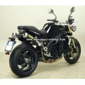 CARBON ARROW TERMINAL PAIR FOR TRIUMPH SPEED TRIPLE 1050 2005/2006, APPROVED
