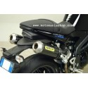 PAIR OF ARROW EXHAUST TERMINALS IN CARBON FOR TRIUMPH SPEED TRIPLE 1050 2005/2006, APPROVED