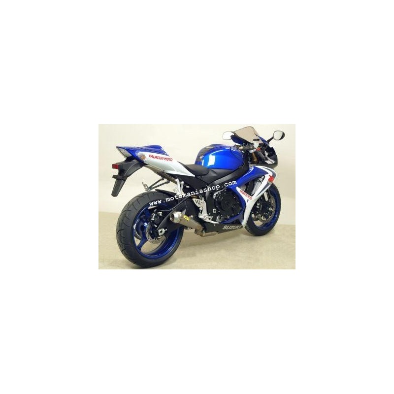 ARROW PRO-RACE EXHAUST TERMINAL IN STAINLESS STEEL FOR SUZUKI GSX-R 600 2006/2007, APPROVED