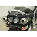 PAIR OF ARROW EXHAUST PIPES IN CARBON FOR SUZUKI GSR 600 2006/2010, APPROVED