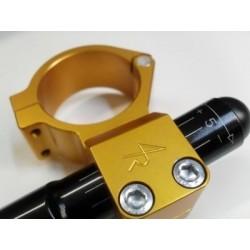 SEMIMANUBRI 4-RACING A BRACCIALE DIAM. 48 mm CON TUBO ECCENTRICO IN LEGA D'ALLUMINIO (Escursione +/- 5 mm)