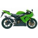 MIVV GP EXHAUST TERMINAL IN CARBON FOR KAWASAKI ZX-10R 2004/2005, APPROVED