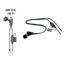 FAST WATERPROOF CONNECTION CABLE FOR OPTIMATE CHARGER WITH TM SOCKET
