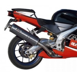 EXHAUST MIVV OVAL TITANIUM FOR APRILIA RSV 1000 1998/2003, APPROVED