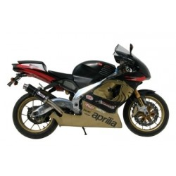 MIVV GP EXHAUST TERMINAL IN CARBON FOR APRILIA RSV 1000 1998/2003, APPROVED