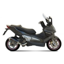 CARBON OVAL MIVV EXHAUST TERMINAL FOR NEXUS GILERA 500 2004/2013, APPROVED