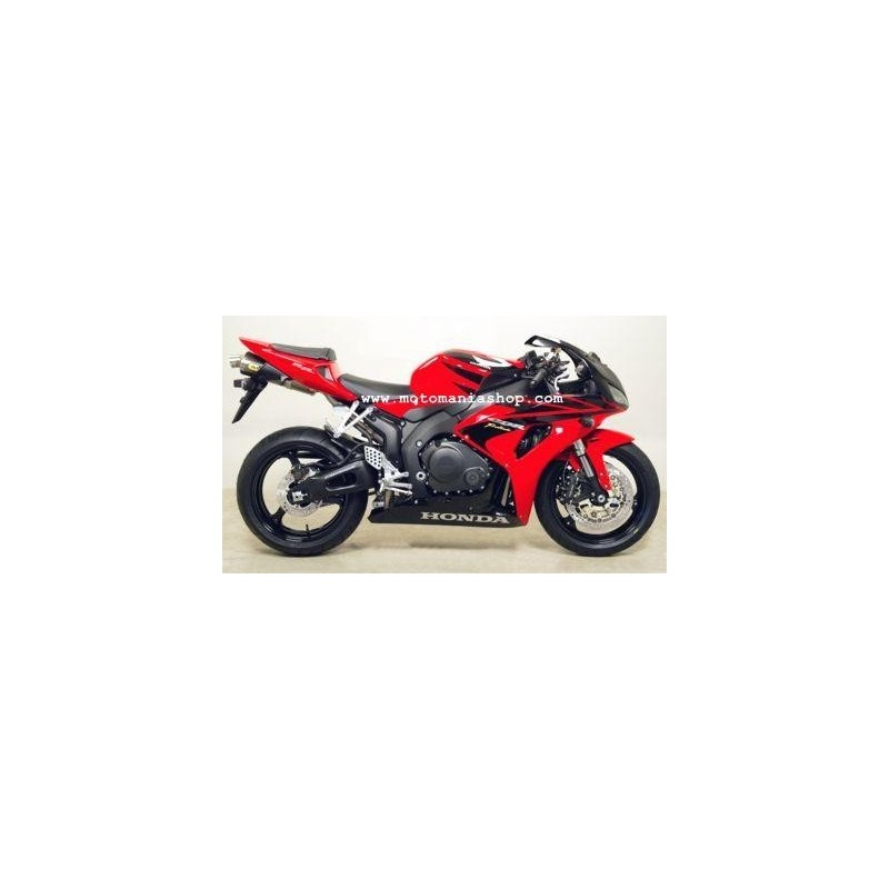 EXHAUST TERMINAL ARROW RACE-TECH ALUMINUM FOR HONDA CBR 1000 RR 2004/2007, APPROVED