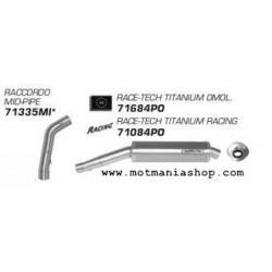 TERMINALE DI SCARICO ARROW RACE-TECH ALLUMINIO PER HONDA CBR 1000 RR 2004/2007, OMOLOGATO