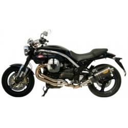 EXHAUST TERMINAL MIVV OVAL CARBON FOR MOTO GUZZI GRISO 1100 (FROM 2006 ONLY), APPROVED