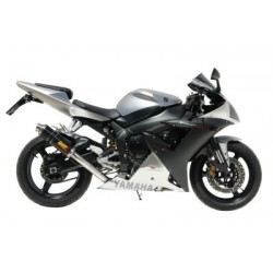 MIVV GP EXHAUST TERMINAL IN CARBON FOR YAMAHA R1 2002/2003, APPROVED