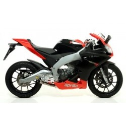 EXHAUST TERMINAL ARROW THUNDER IN ALUMINUM FOR APRILIA RS4 125 2011/2016, APPROVED