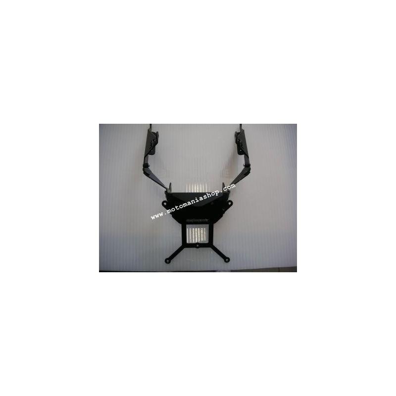 ADJUSTABLE ALUMINUM LICENSE PLATE SUPPORT FOR HONDA CBR 600 RR 2007/2017, FOR LED TAILLIGHT