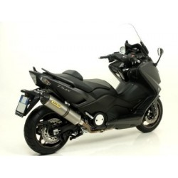 ARROW COMPLETE EXHAUST SYSTEM WITH RACE-TECH TITANIUM TERMINAL FOR YAMAHA T-MAX 530 2012/2016