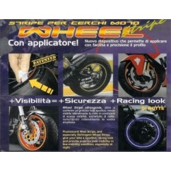 BORDO ADESIVO PER CERCHI RUOTA WHEEL STRIPE CON APPLICATORE
