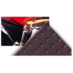 ADHESIVE WITH RELIEFS IN NON-SLIP MATERIAL, BLACK COLOR
