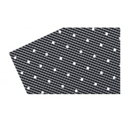 CARBON LOOK PERFORATED ADHESIVE SHEETS