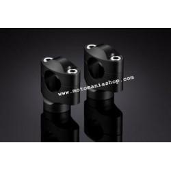 PAIR OF UNIVERSAL RISERS RIZOMA AZ402 FOR HANDLEBARS DIAMETER 28.6 mm, HEIGHT 42 mm