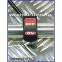 UNIVERSAL ON/OFF SWITCH FOR HANDLEBARS WITH DIAMETER 22 mm