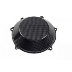 CLOSED CARBON FIBER CLUTCH CARTER PROTECTION FOR DUCATI MONSTER 1100, STREETFIGHTER 1098/S, SUPERSPORT 1000